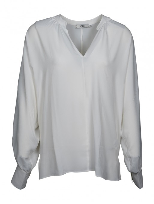 0039 Italy Bluse Parma weiß
