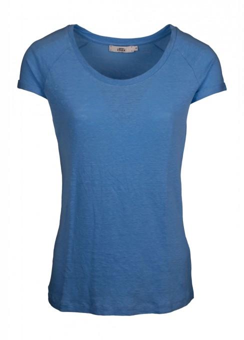 0039 Italy Damen T-Shirt Amalia blau