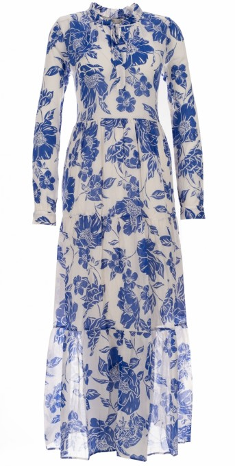 0039 Italy kleid blau