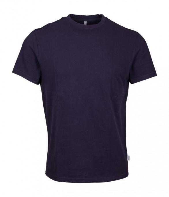 04651/ A trip in a bag Herren T-Shirt navy blau