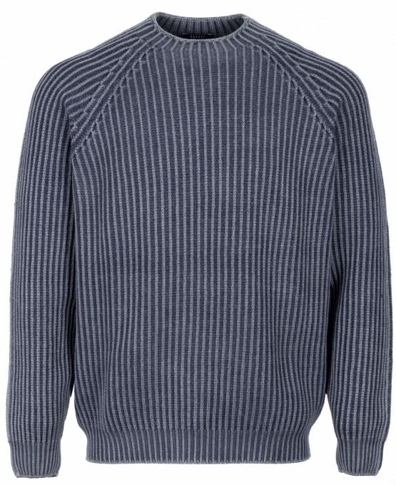 04651/ A trip in a bag pullover blau