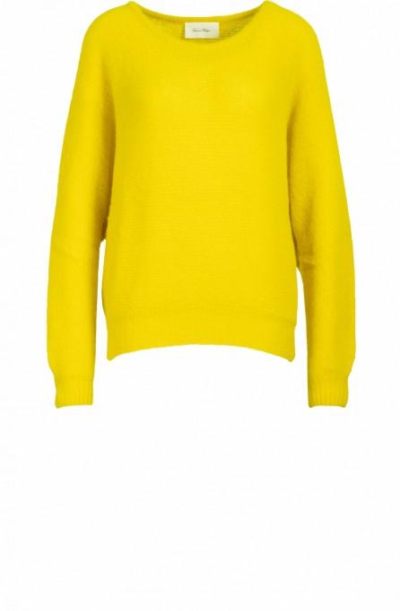 American Vintage Damen Pullover East acacia gelb