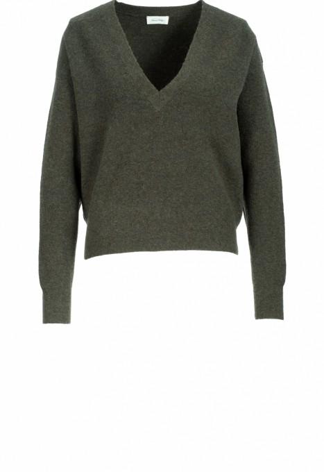 American Vintage Damen Pullover Noxon cypres grün