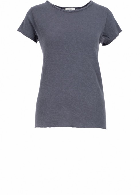 American Vintage Damen Sweatshirt Sonoma halbarm blaugrau