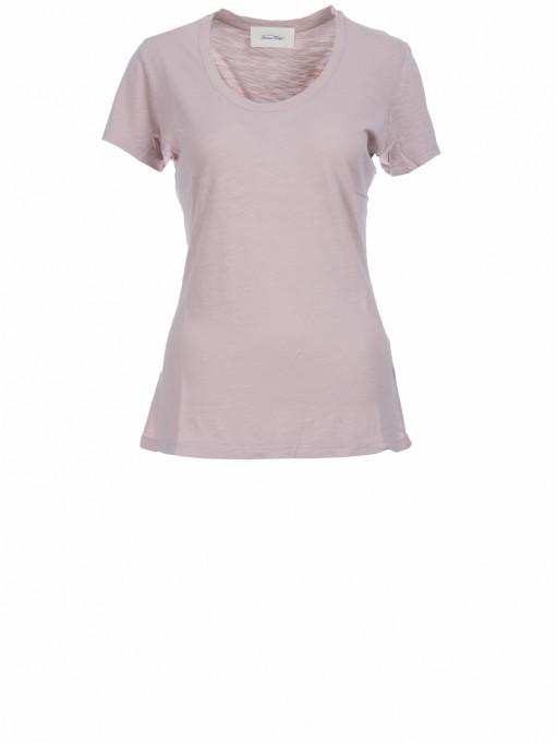 American Vintage Damen T-Shirt Jacksonville milkshake rosé