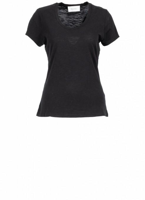 American Vintage Damen T-Shirt Jacksonville schwarz