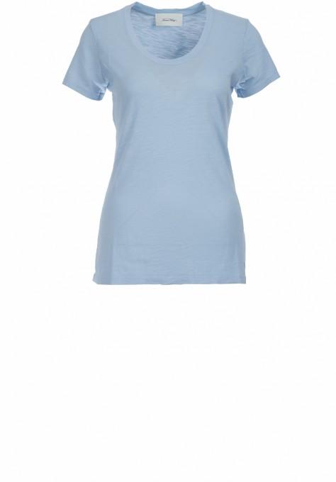 American Vintage Damen T-Shirt Jacksonville sky blue