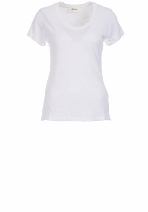 American Vintage Damen T-Shirt Jacksonville weiß