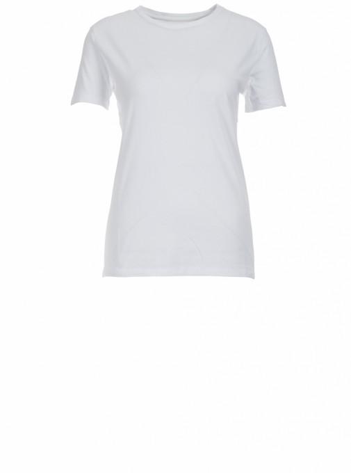 American Vintage Damen T-Shirt Vegiflower aus Öko-Baumwolle weiß