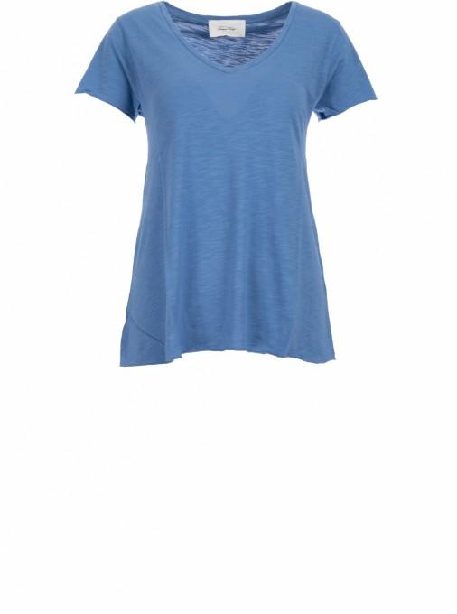 American Vintage shirt blau