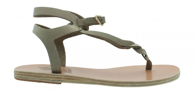 Ancient Greek Sandals Damen Sandale Ismene beige