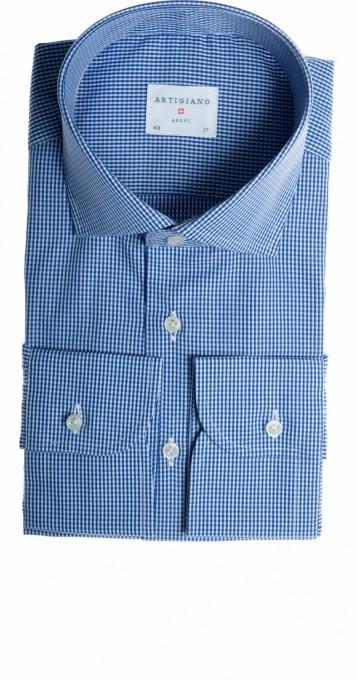Artigiano hemd blau