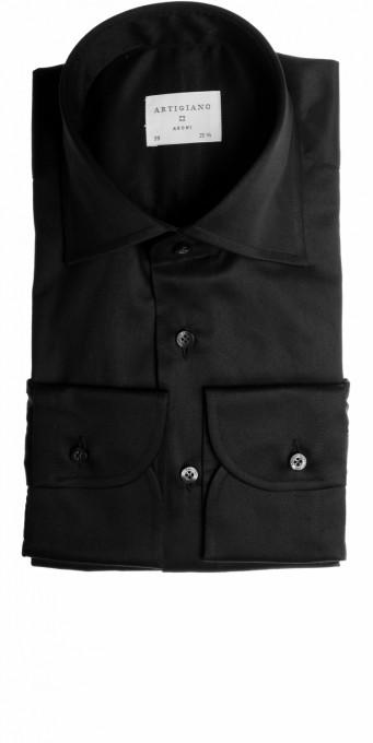 Artigiano Herrenhemd Coimbra schwarz
