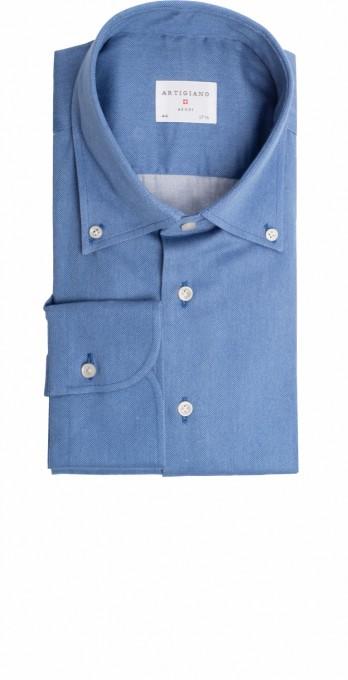 Artigiano Herrenhemd Riba mid blue
