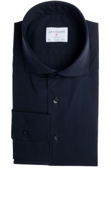 Artigiano Herrenhemd Slim Fit Prato navyblau