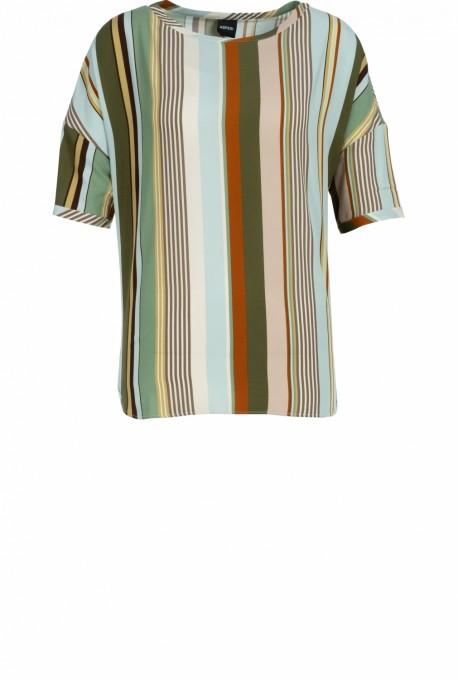 Aspesi Bluse mit Streifenmuster multi stripe