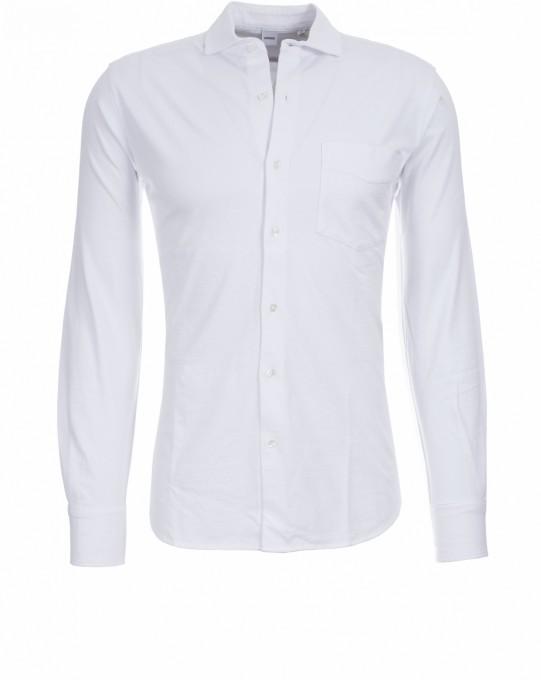 Aspesi Herren Jerseyhemd weiß