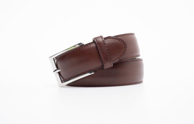Berwick Herren Ledergürtel aus Glattleder toledo braun