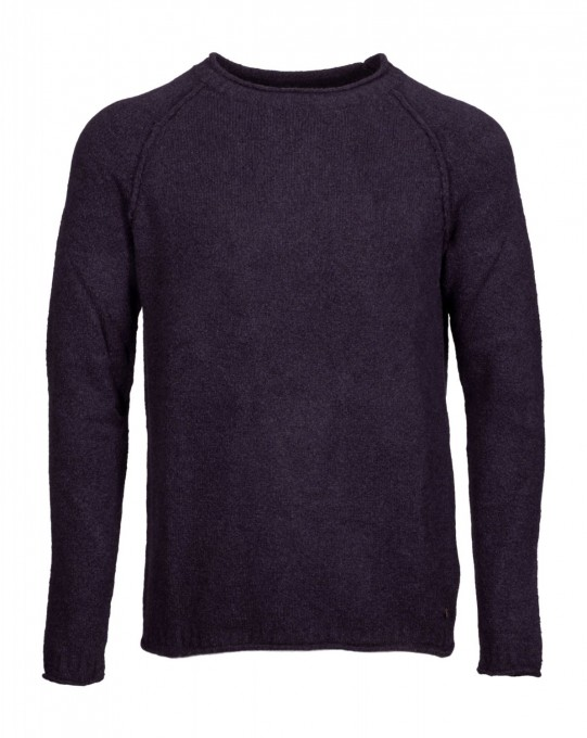 Better Rich Herren Pullover Crew Clean Rugby Blue