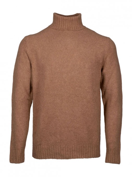 Better Rich Herren Rollkragenpullover MK204 Dark Brown