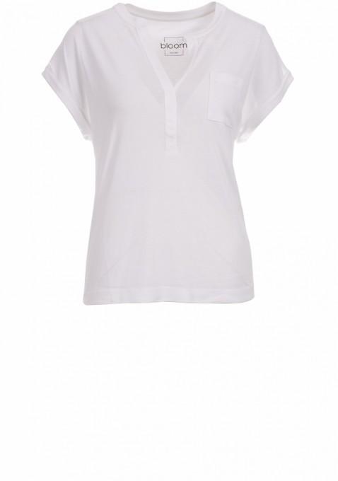 bloom shirt weiß