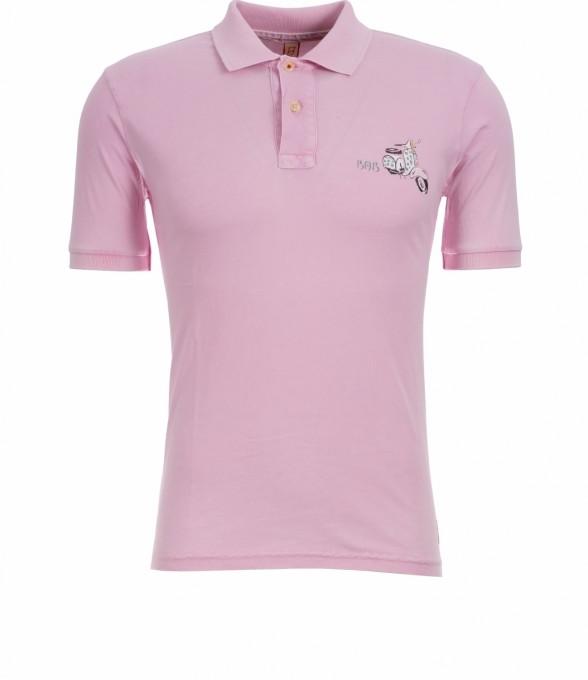 Bob Herren Polo Back pink rosé