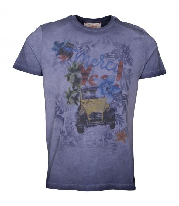 Bob Herren T-Shirt Hell blau