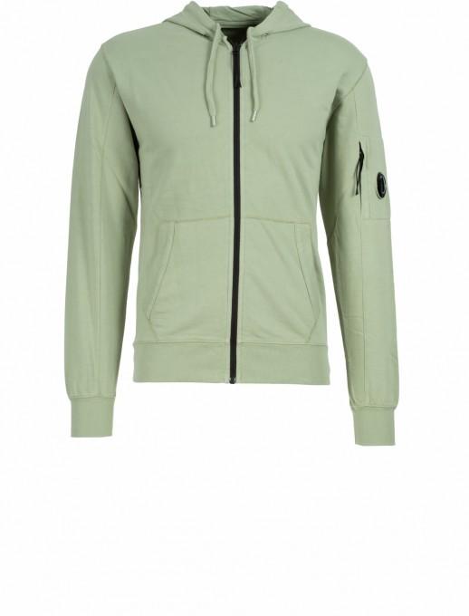 C.P. Company Herren Kapuzensweater Light Fleece salbei grün