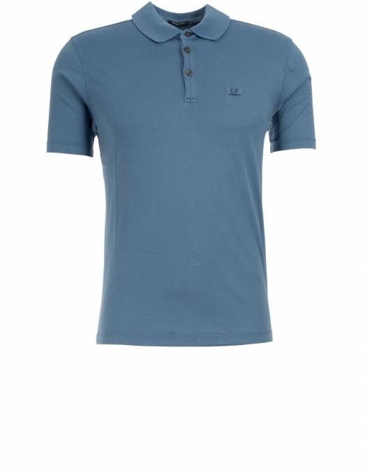 C.P. Company Herren Polo aus Baumwolle lyons blu