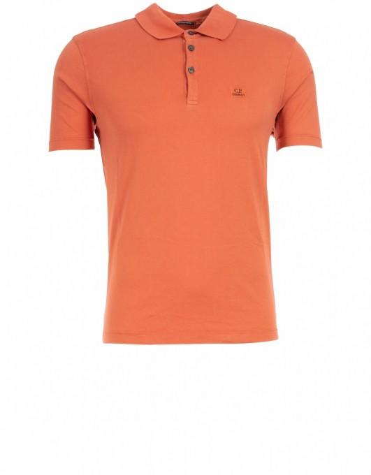 C.P. Company Herren Polo burnt ochre orange