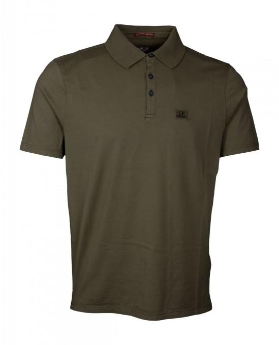 C.P. Company Herren Poloshirt Burnt Olive