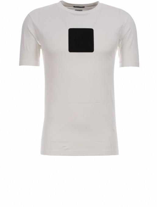 C.P. Company Herren T-Shirt 30/1 Jersey Logo white
