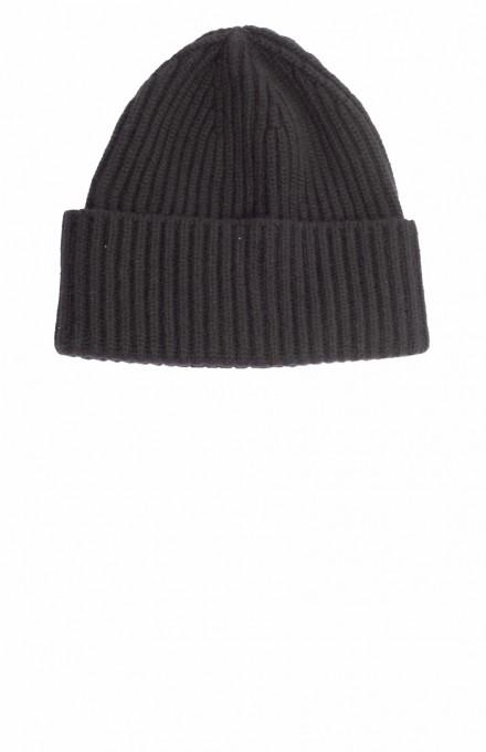 Cashimar Damen Kaschmir-Mütze Bari schwarz