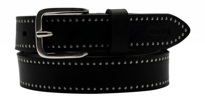 CLOSED Damen Gürtel aus Leder 90217 schwarz