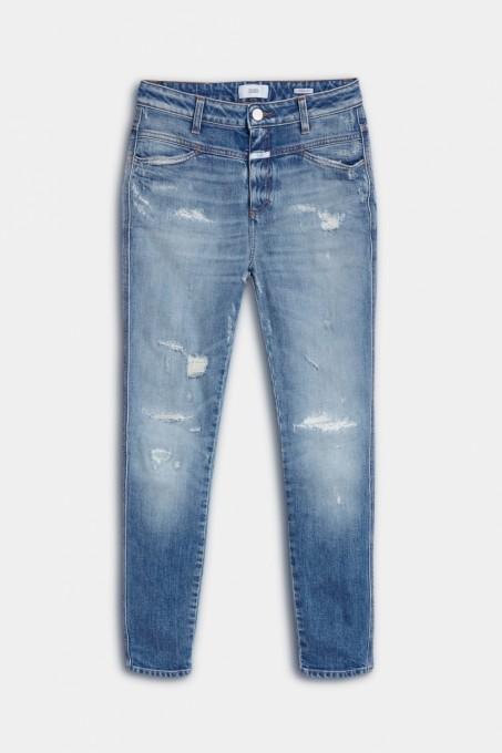 CLOSED Damen Jeans A Better Blue Pusher mid blue