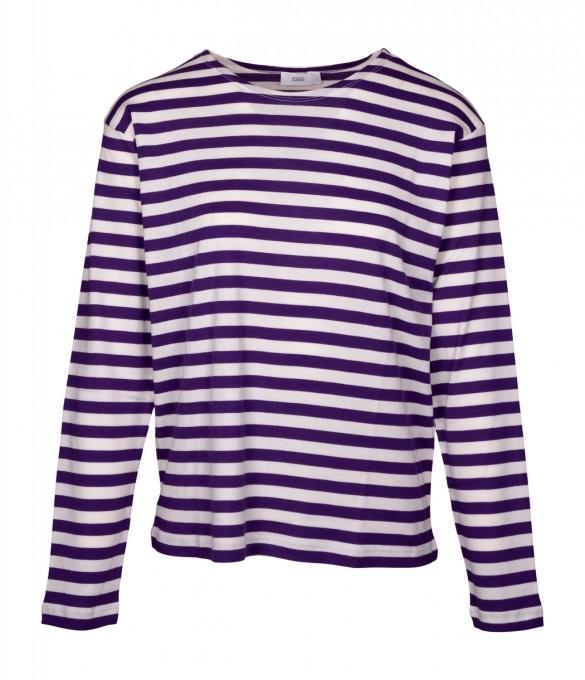 CLOSED Damen Longsleeve 95594 Amethyst violet