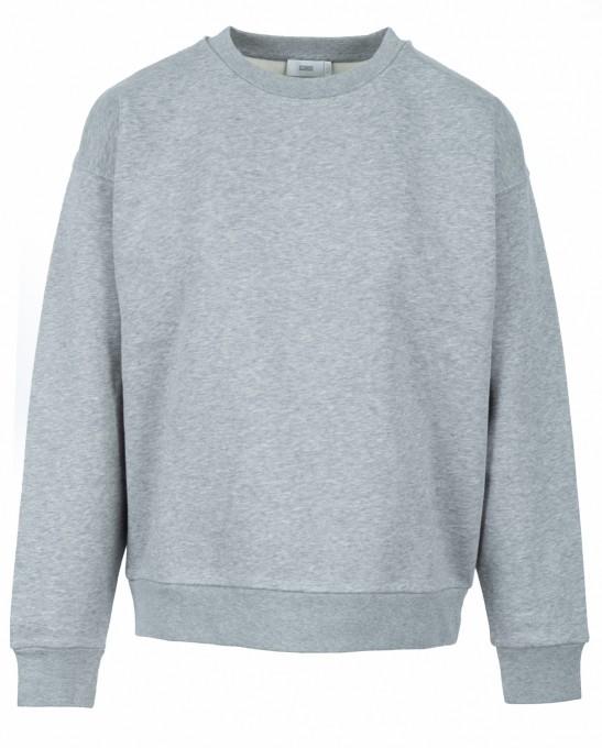 CLOSED Damen Sweatshirt 95622 aus Bio-Baumwolle grau