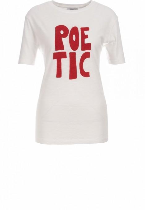 CLOSED Damen T-Shirt Poetic ivory