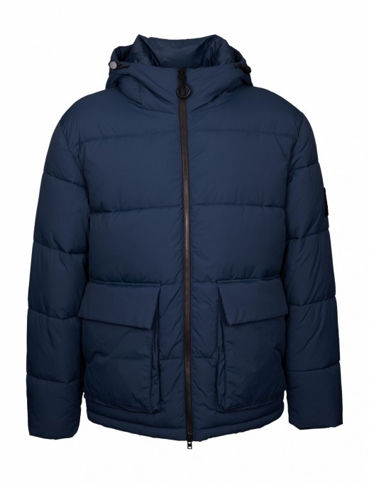 CLOSED Herren Eco Puffer Jacket blue dawn