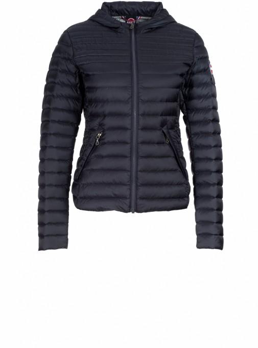 Colmar Damen Daunenjacke Punky mit Kapuze 2110 blau