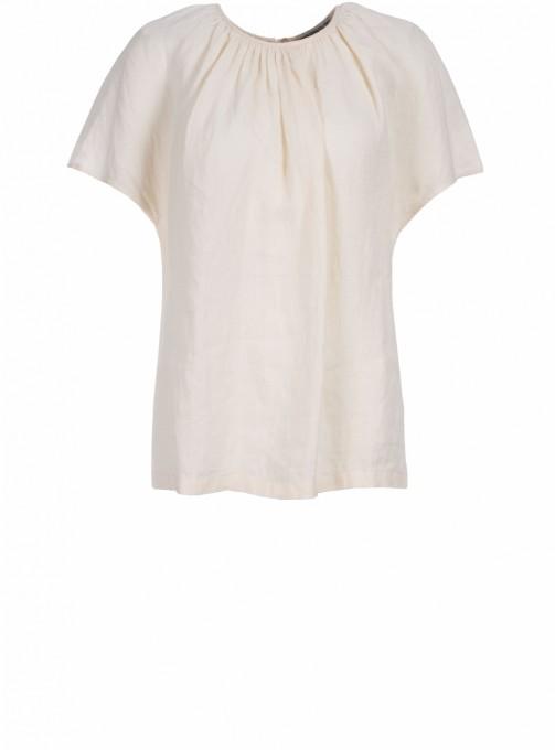 Drykorn Halbarm-Bluse Lani beige