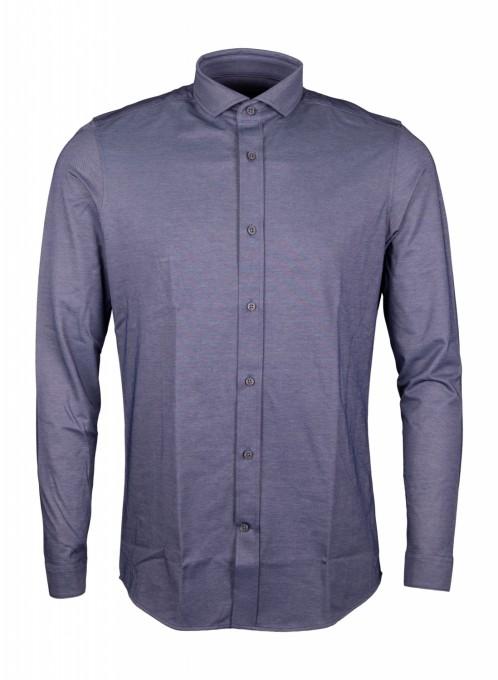 Drykorn Herren Businesshemd Solo blau