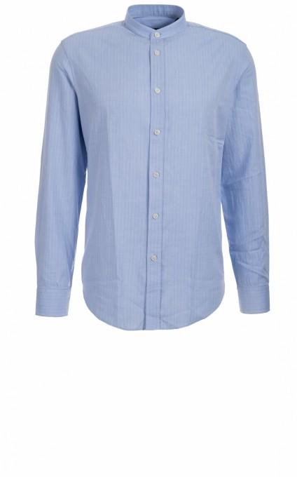 Drykorn Herrenhemd Tarok blau