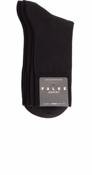 Falke Herren Socken Airport 3er Pack schwarz