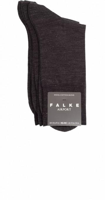 Falke Herren Socken Airport 3er Pack grau