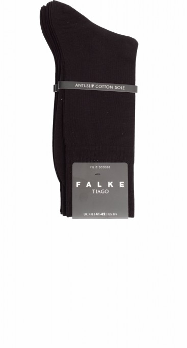 Falke Herren Socken Tiago 3er Pack schwarz