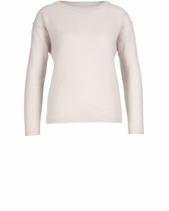 Hemisphere Damen Pullover aus Kaschmir breeze grau