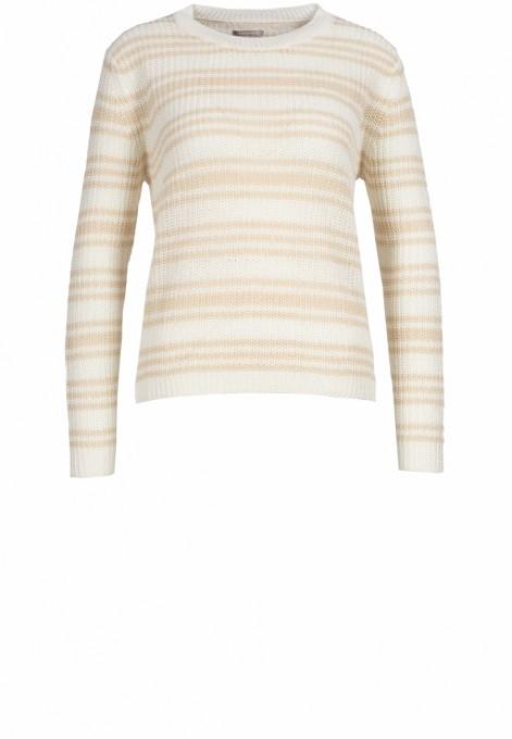 Hemisphere Damen Pullover aus Leinen sandfarben