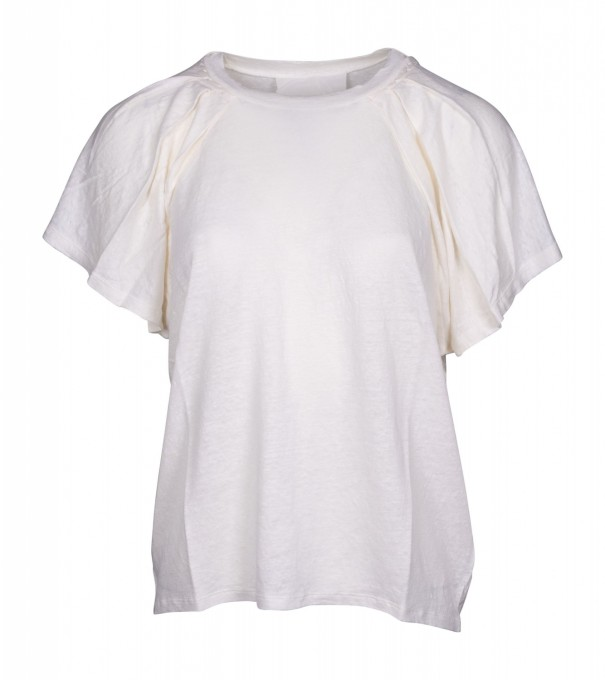 Humanoid Damen Shirt Sonja Ecru creme