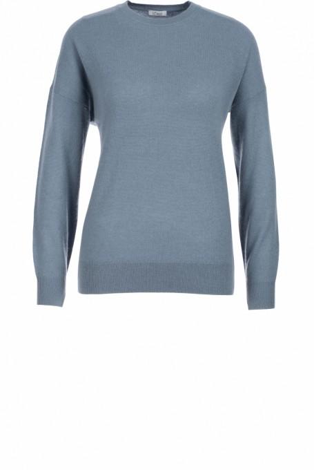 Iheart Damen Pullover Lica blaugrau